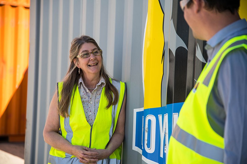 The 18 shelters supplied to Bethlehem House were installed in April 2020. CEO Stephanie Kirkman Meikle says the project is a great initiative with great benefit for the Tasmanian community. Photo: Alastair Bett