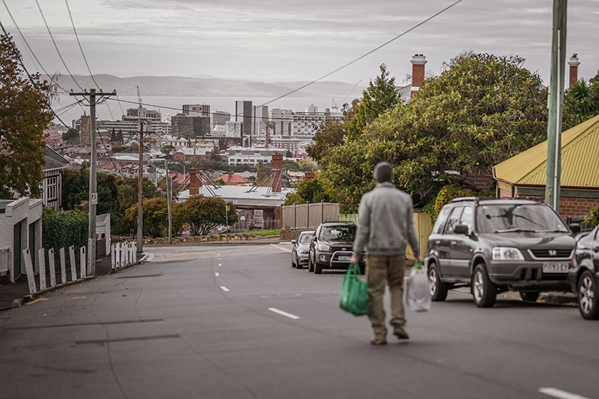 Homelessness doesn't discriminate - it can happen to anyone. Photo: Nick Hansen