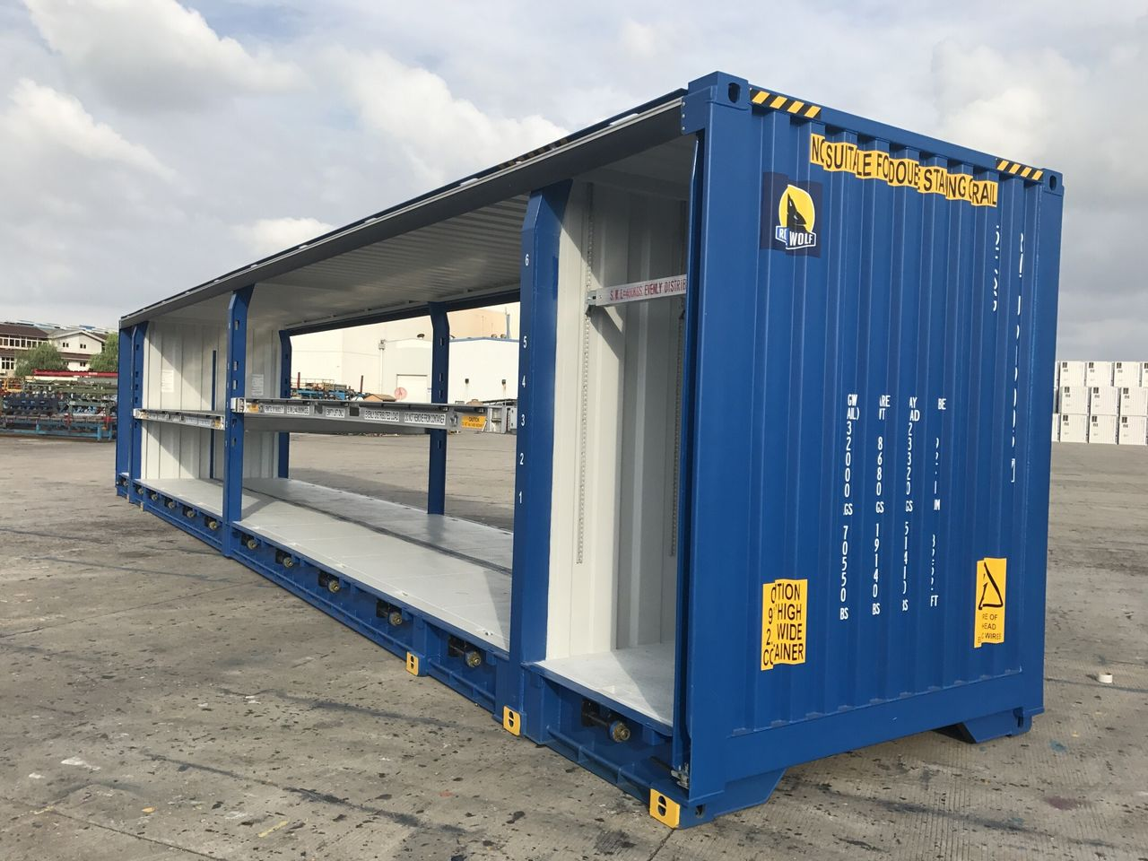 Containers logistics and transport made easy and bespoke   Royal Wolf AU