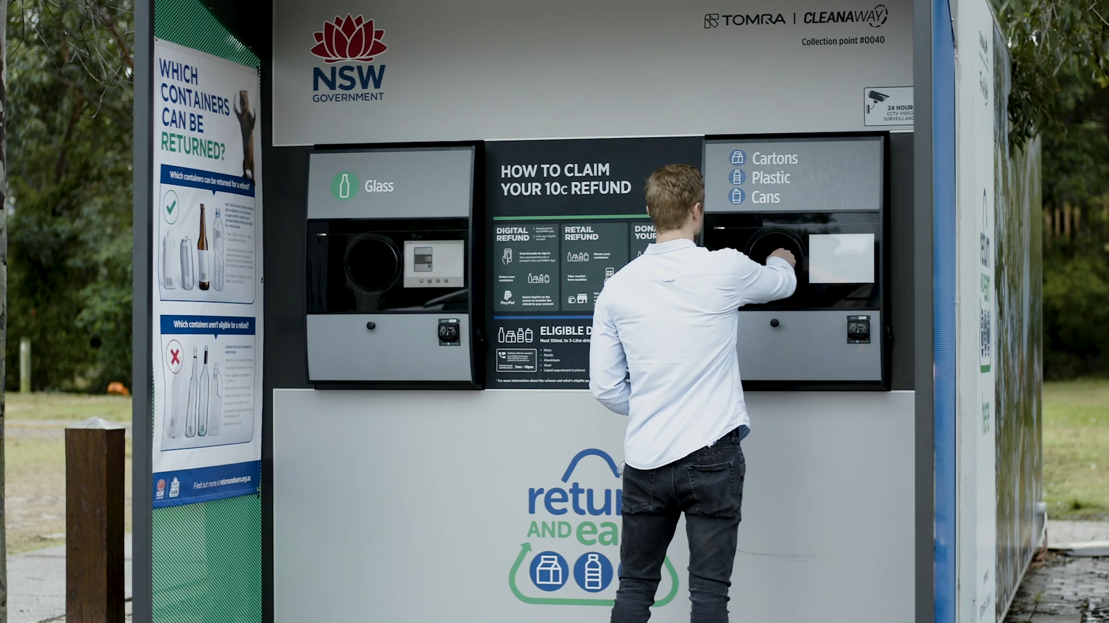 Think Like A Wolf: TOMRA 'Return and Earn' Container Deposit Scheme