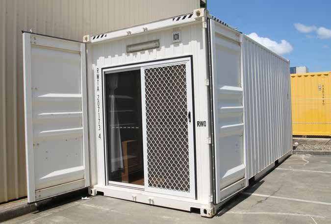 Container Accommodation Portable Temporary Housing