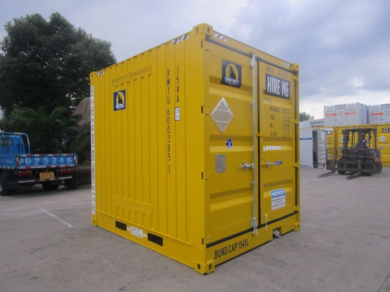 Dangerous Goods and Chemical Storage Containers