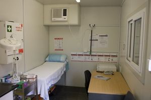 First Aid Rooms