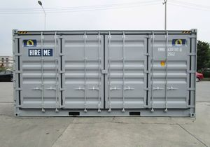 Open Side Containers