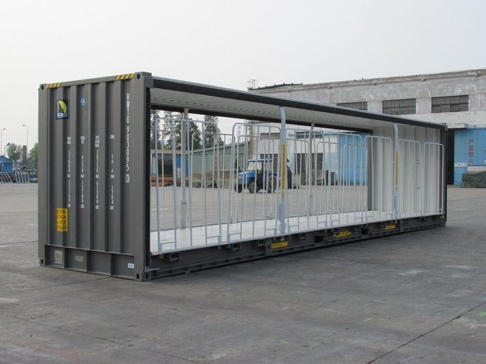 Rail Curtainside Containers