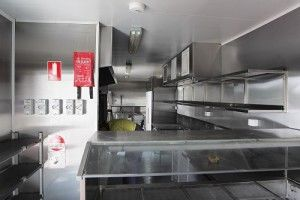Royal Wolf Commercial Container Kitchen - Brother's Leagues Club
