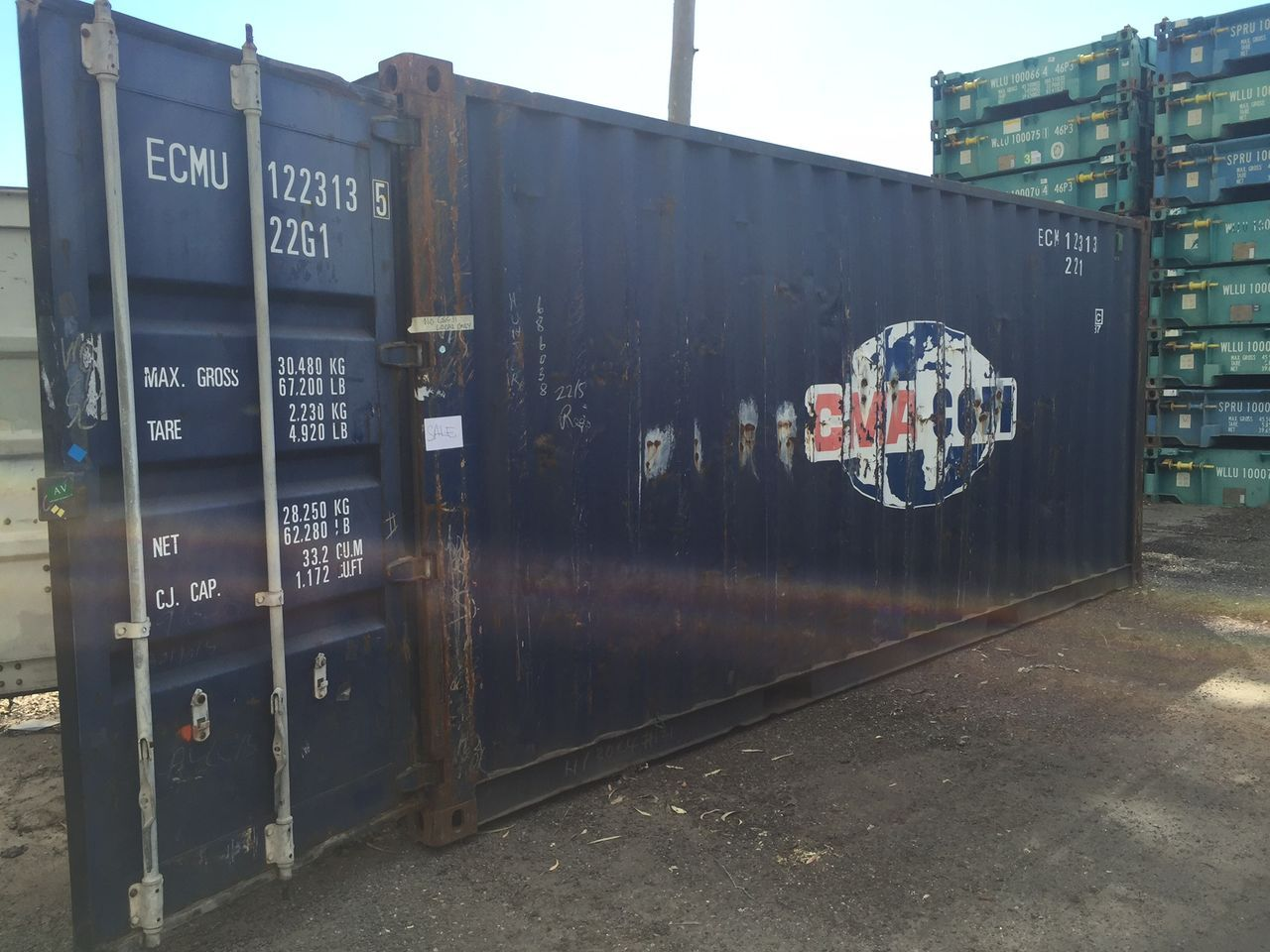 Used Shipping Container Sale   Royal Wolf